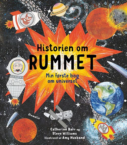 bøger om universet til børn